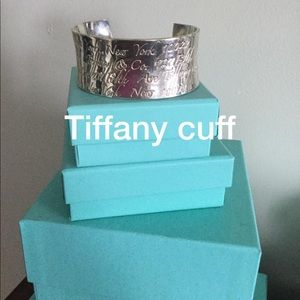 Tiffany's cuff authentic